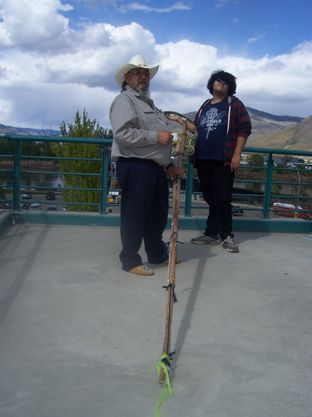 Kamloops training picture with Elder Carter and Youth