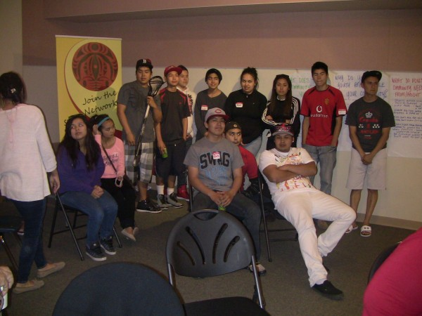 Youth on the Tsawout Reservation May 2013